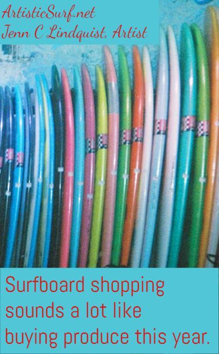 Surfboard Shopping