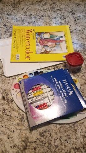Watercolors and Palates