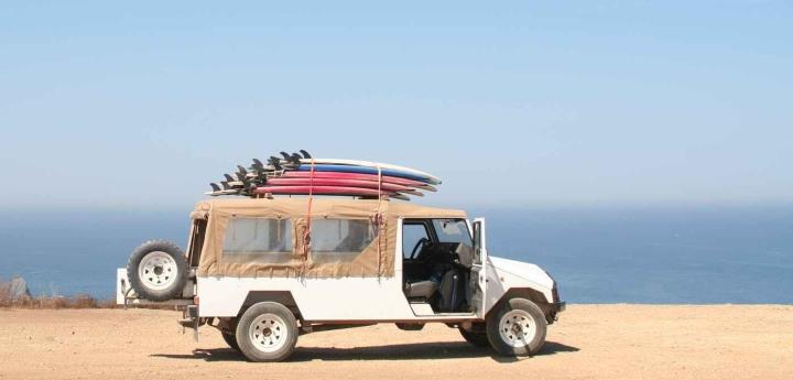surf truck