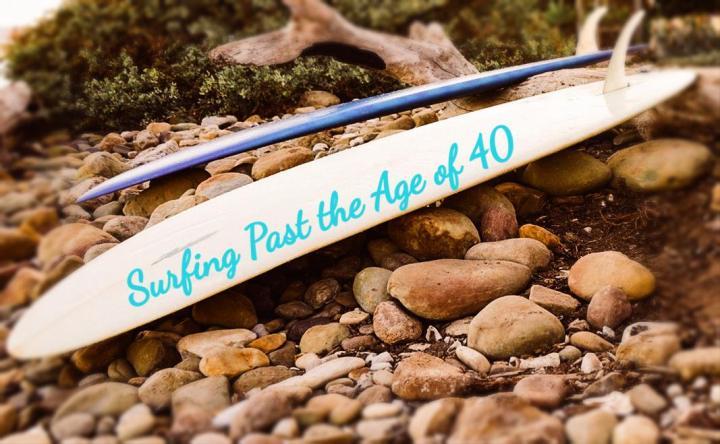 Surfing Through 40,Literally